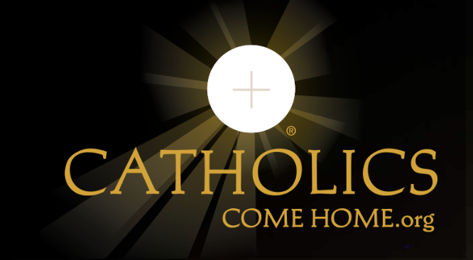 Catholics come home logo image