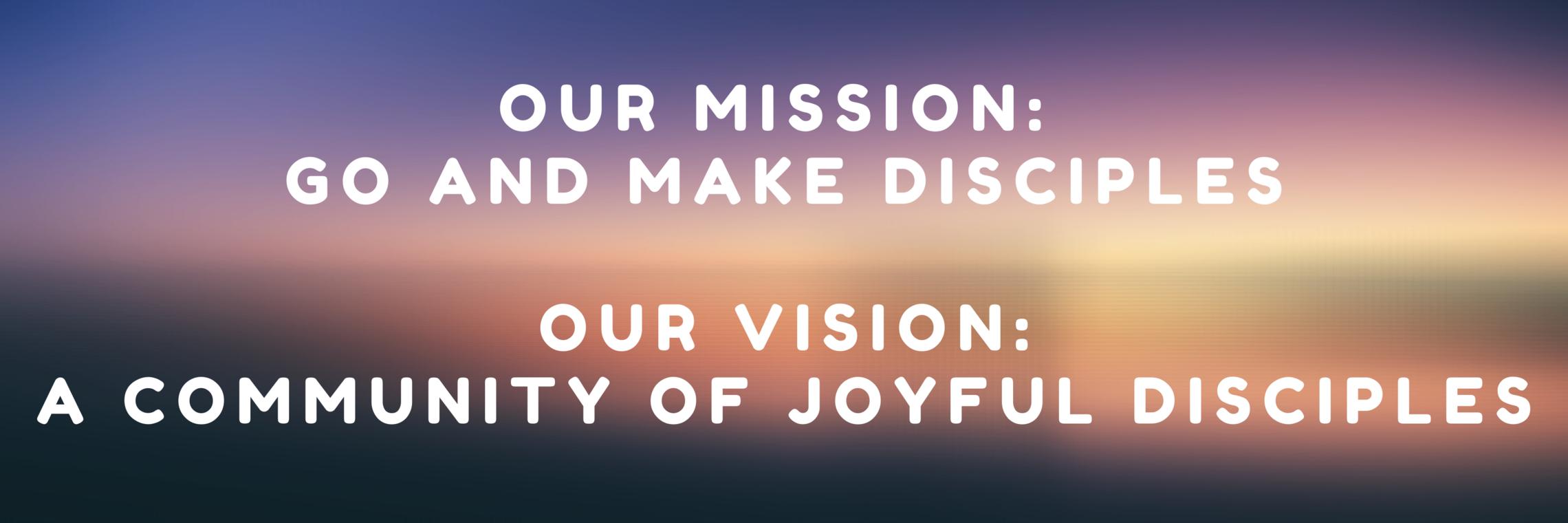 Mission & Vision Banner