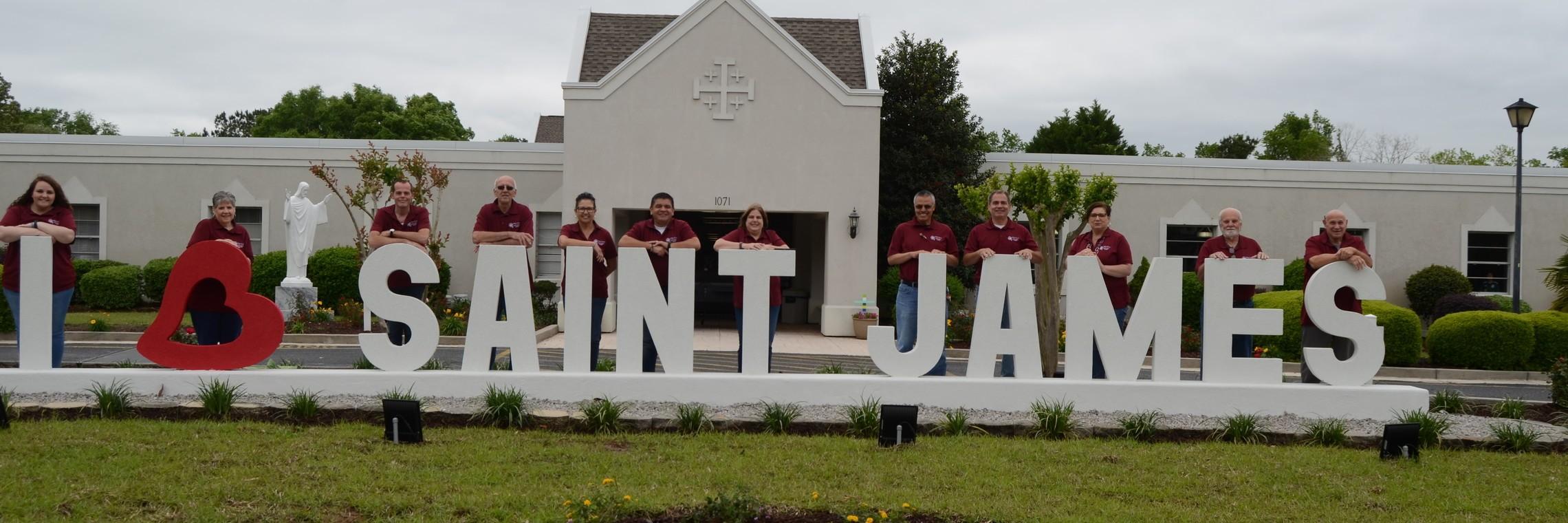 """Staff Photo """"I Love St. James"""""""