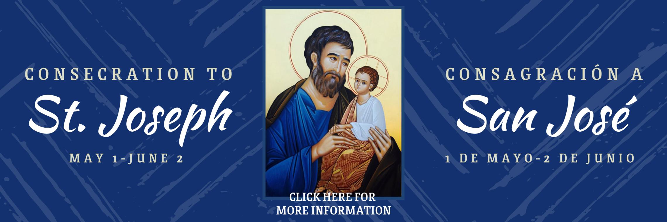 St. Joseph Consecration Web