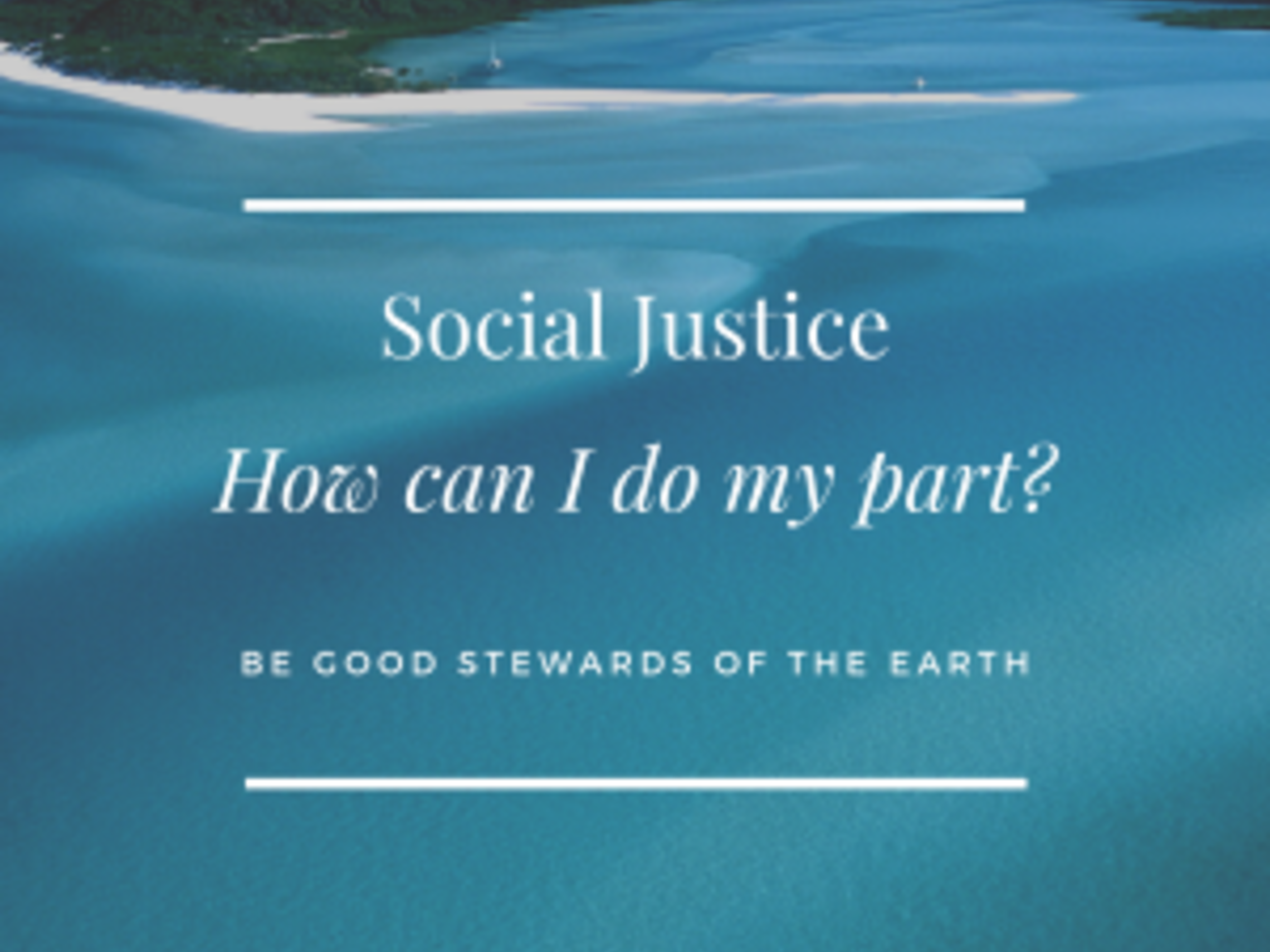 Social Justice Care For The Earth 300
